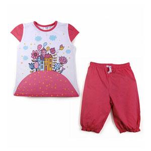 Kız Çocuk Pijama Takımı (74 cm-7 yaş)