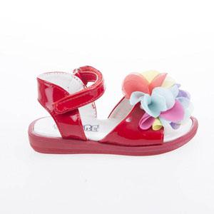 Kız Çocuk Sandalet Beyaz (21-25 numara)