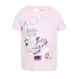 Disney Minnie Pet Salon Kız Çocuk Kısa Kol Tunik Açık Pembe (2-7 yaş)