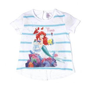 Disney Princess Kısa Kol T-Shirt Turkuaz (2-7 yaş)