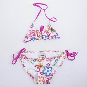 Kız Çocuk Bikini Emprime Desen (7-12 yaş)