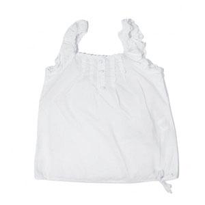 Kız Çocuk Bluz Beyaz (7-12 yaş)