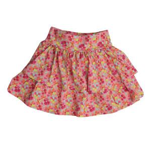Kız Çocuk Etek Toz Pembe (3-12 yaş)