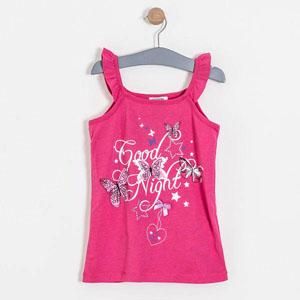 Kız Çocuk Pijama Takımı Fuşya (7-12 yaş)