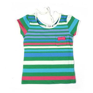 Kız Çocuk Kısa Kol T-shirt Cobalt (7-12 yaş)