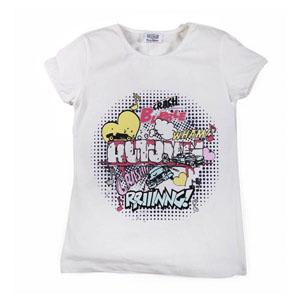Pop Girls Kısa Kol Kız Çocuk T-Shirt Siyah (7-12 yaş)