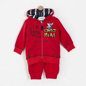 Erkek Çocuk Eşofman Takımı Kırmızı