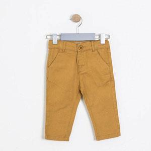 Pop Boys Erkek Çocuk Pantolon Hardal (74 cm-7 yaş)