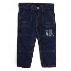 Erkek Çocuk Kot Pantolon İndigo (74 cm-7 yaş)