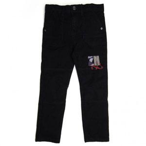 Erkek Çocuk Kot Pantolon Siyah (74 cm-7 yaş)