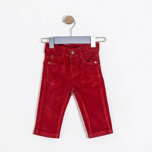 Pop Boys Erkek Çocuk Pantolon Bordo (74 cm-7 yaş)