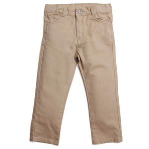 Jungle Erkek Çocuk Pantolon Bej (74 cm-7 yrs)