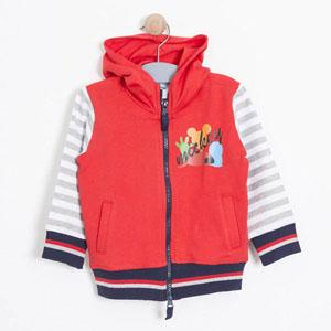 Erkek Çocuk Sweatshirt Kırmızı