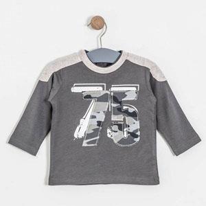 Erkek Çocuk T-Shirt Antrasit