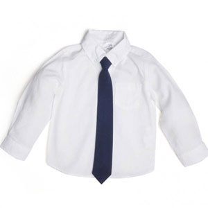 Erkek Newborn Gömlek Beyaz
