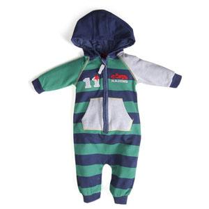 Erkek Newborn Tulum Yeşil