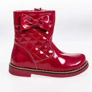 Kız Çocuk Bot Kırmızı (26-30 numara)