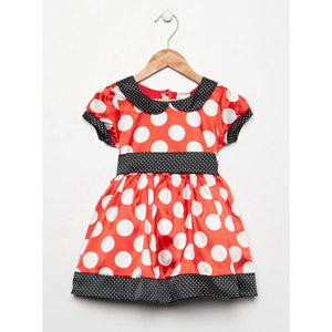 Kız Çocuk Elbise Kırmızı