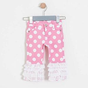 Kız Çocuk Pantolon Pembe
