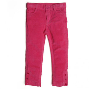 Kız Çocuk Pantolon Koyu Pembe