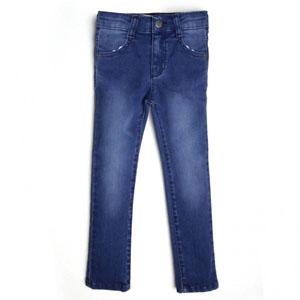 Kız Çocuk Pantolon Koyu Mavi