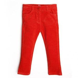 Kız Çocuk Pantolon Kırmızı