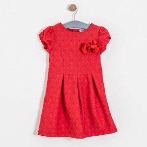 Kız Garson Elbise Nar Çiçeği