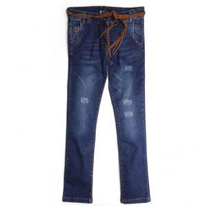 Kız Çocuk Pantolon Mavi (7-12 yaş)