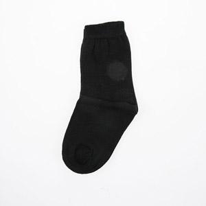 Unisex Çocuk Üçlü Çorap Set Siyah