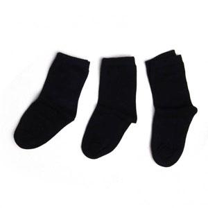 Unisex Çocuk Üçlü Çorap Set Lacivert