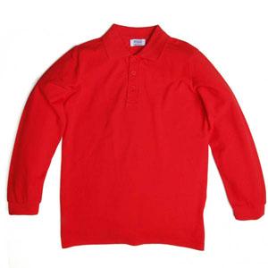 Unisex Garson T-Shirt Kırmızı