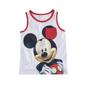 Disney Mickey Mouse Kolsuz Tişört Beyaz (9 ay-7 yaş)