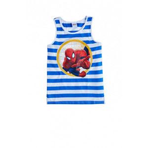 Lisanslı Ultimate Spider -Man Kolsuz Tişört Beyaz (2-8 yaş)