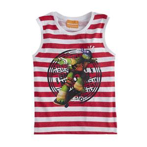 Ninja Turtles Kolsuz Tişört Kırmızı (2-7 yaş)