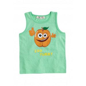 Erkek Çocuk Kolsuz Tişört Lime (9 ay-7 yaş)