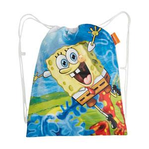 Lisanslı Sponge Bob Plaj Çantası Beyaz 31x41