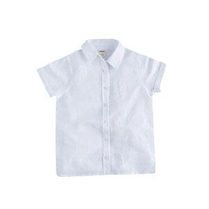 Bayram-1 Kısa Kollu -Yelekli Erkek Çocuk Gömlek Beyaz (2-7 yaş)