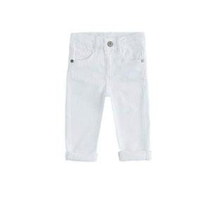 Erkek Çocuk Pantolon Beyaz (74 cm-7 yaş)