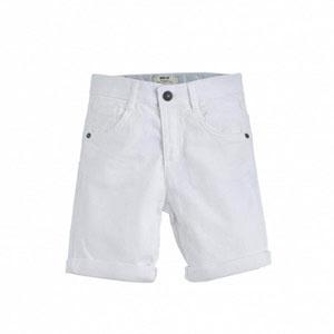 Erkek Çocuk Kot Şort Beyaz (74 cm-12 yaş)