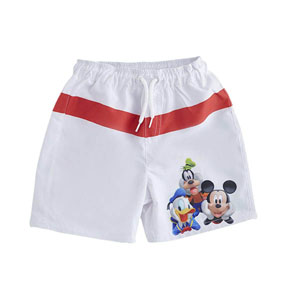 Lisanslı Disney Mickey Mouse Şort Mayo Beyaz (9 ay-7 yaş)
