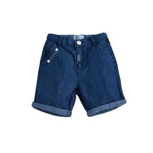 Erkek Çocuk Kot Şort Mavi (2-7 yaş)