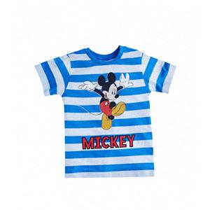 Disney Mickey Mouse Kısa Kol Tişört Mavi  (9 ay-7 yaş)
