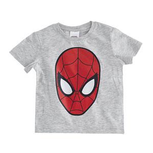 Ultimate Spider-Man Kısa Kol Tişört Açık Gri Melanj (2-8 yaş)