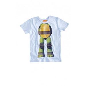 Ninja Turtle Kısa Kol Tişört Keskin Sarı (2-7 yaş)