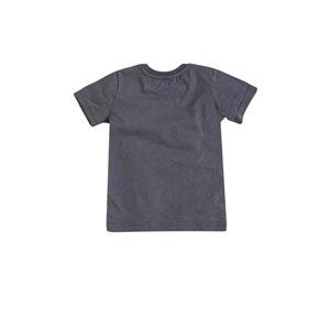 Erkek Çocuk Kısa Kol Tişört Gri Melanj (9 ay-7 yaş)
