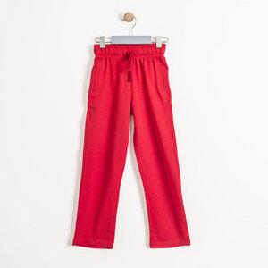 Erkek Çocuk Eşofman Altı Kırmızı (7-12 yaş)