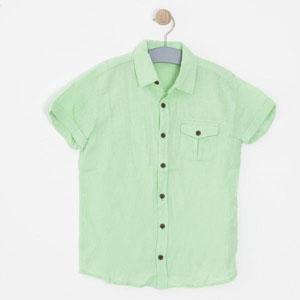 Erkek Çocuk Kısa Kol Gömlek Beyaz (8-12 yaş)