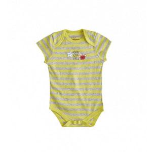 Little Sailor Kısa Kol Badi Sarı  (0-18 ay)