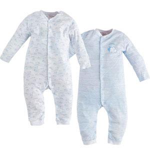 Sheep İkili Tulum Set Mavi (0-24 ay)