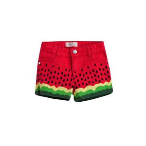 Watermelon Mini Şort Kırmızı (2-7 yaş)